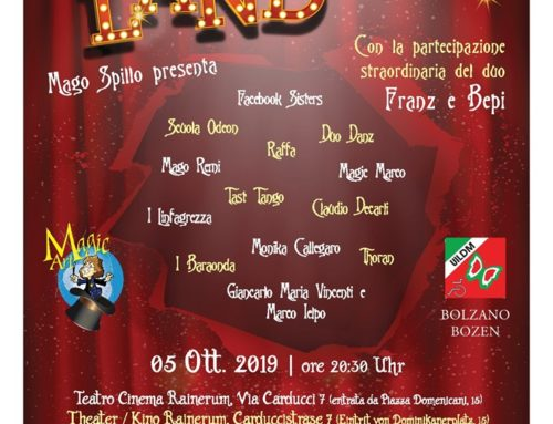 Magic Land – Cabaret per un sorriso!